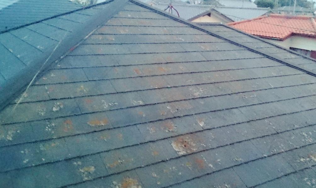 屋根塗装の行程